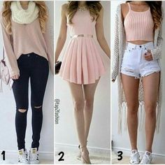 *a c v* outfits in 2019 ropa Cute Teen Outfits, Teenage Outfits, Teen Fashion Outfits, Cute Fashion, Outfits For Teens, Pretty Outfits, Stylish Outfits, Beautiful Outfits, Fall Outfits