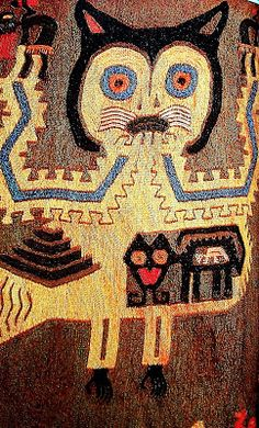 IMAGENES Y TEXTOS SELECTOS: PARACAS III PARTE: Textiles ancestrales del Perú