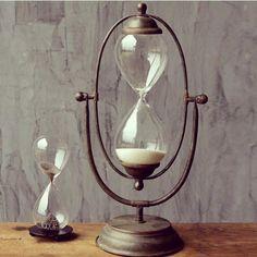 Vintage Hour Glass