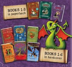"""How to Train Your Dragon series by Cressida Cowell. A bazillion times better than the movies. This series is fun to read aloud. It has just the right amount of crudeness and valor to make one shout, """"Read one more chapter!"""""""