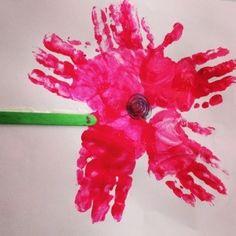 Poppy handprints