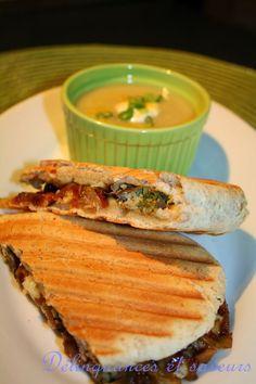 J'adore les sandwichs bien garnis accompagnés d'une bonne soupe. Si ce n'était que de moi, mes soupers ressembleraient à ça souvent;) Les hu...