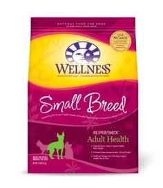 Wellness Super5Mix Dry Dog Food, Adult Small Breed Health Recipe, 12-Pound Bag --- http://www.amazon.com/Wellness-Super5Mix-Food-Health-12-Pound/dp/B001HYB2P0/?tag=Peteconv-20