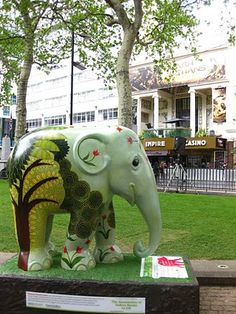 Cholai, green elephant London 2010