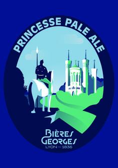 PRINCESSE PALE ALE - Bières Georges - Lyon