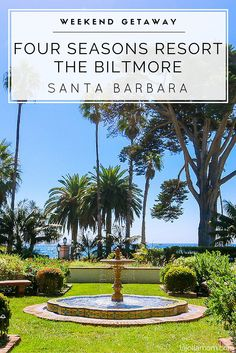 See what it's like to spend a family vacation at beautiful Four Seasons Resort The Biltmore Santa Barbara.