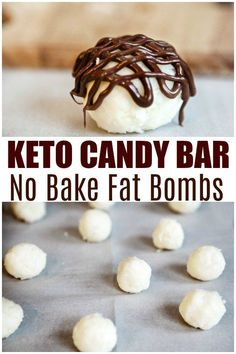 These keto candy bar fat bombs provide a quick burst of energy that will carry you through till mealtime. Coconut fat bombs that taste like an almond joy. Desserts Keto, Keto Snacks, Dessert Recipes, Holiday Desserts, Candy Recipes, Breakfast Recipes, Keto Fat, Low Carb Keto, High Fat Keto Foods