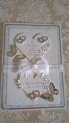 On Your Wedding Day, I Card, Bride, Wedding Bride, Bridal, The Bride