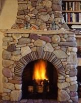 Monumental Stone Fireplace Images . . . Big, Bold & Beautiful!