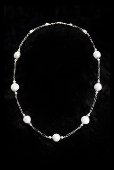 Simple pearl necklace for brides and bridesmaids  #pearl #jewelry #necklace #bride