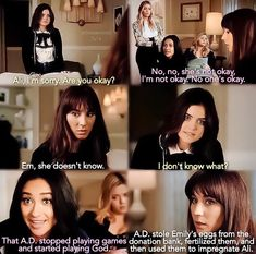"""2,246 Likes, 54 Comments - Pretty Little Liars (@pllxrosewood) on Instagram: """"[7x14] THIS SCENE THOUGH  AN EMISON BABY IS COMING YALL. & I CANT BREATHE. I just wish it was…"""""""