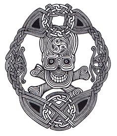 Celtic Skull Art | Celtic Skull Knot by ppunker