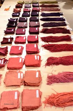 Natural Dyes on Salt Spring - Day 2 - the MAIWA BLOG