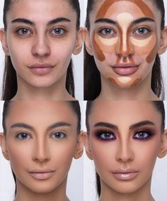 The Most Amazing Beauty Transformations By Makeup Wizard Samer Khouzami Face Contouring Tutorial, Face Contouring Makeup, Highlighter Makeup, Contouring And Highlighting, Makeup Inspo, Makeup Tips, Beauty Makeup, Eye Makeup, Makeup Masters