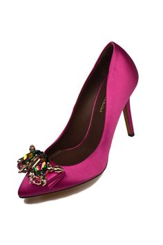 Mawi for Bruno Magli means jewels for shoes