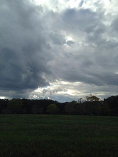 The View from Rikki's Refuge! www.rikkisrefuge.org Clouds rolling in. (10/25/14)