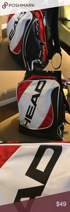 055c2bd44b4 Head Tennis backpack Excellent barely used bag that s perfect for your  tennis tournament