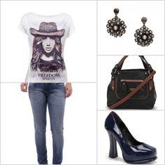 Uma blusa estampada garante um look mais descontraído. http://tempodemoda.climatempo.com.br/Salvador
