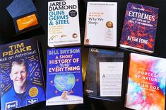 WIN THE WORLDS BEST SCIENCE BOOKS AND A KINDLE EREADER!