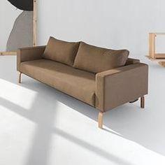 Cassius Sleek Fabric Full Size Sofa Convertible | Eurohaus Modern Furniture