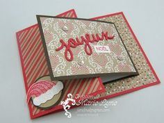 Carte double pliage - Stampin'UP! - YouTube