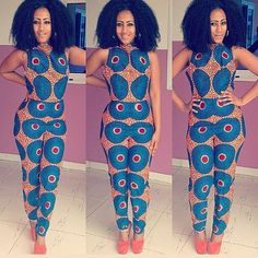 Hey, I found this really awesome Etsy listing at https://www.etsy.com/listing/216264431/african-print-jumpsuit-ankara-jumpsuit
