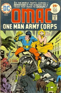 JACK KIRBY'S WILDEST DC COMICS COVERS