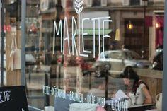 Café Marlette 51 rue des Martyrs, 75009 Paris www.cafemarlette.fr Open: Tues-Fri, 8.30am-7.30pm; Sat, 10am-7.30pm; Sun, 10am-6pm