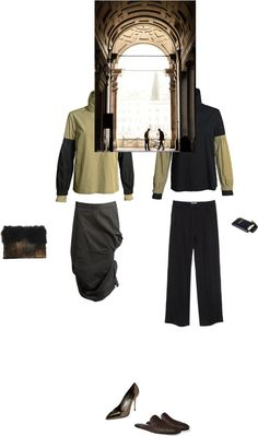 """HIS/HER look"" by purism ❤ liked on Polyvore"