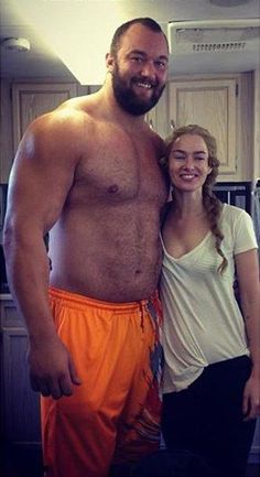 The mountain & Cersei #got