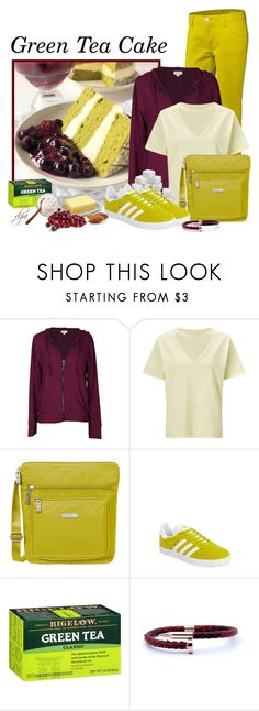 """""""G Is For...Green Tea Cake"""" by dgia ❤ liked on Polyvore featuring adidas NEO, Velvet by Graham & Spencer, Miss Selfridge, Baggallini and adidas"""