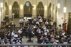 Orchester des Philistriertenverbandes der Blauen Sänger unter der Leitung von Helmut Bornschier.