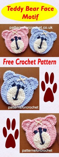 Mesmerizing Crochet an Amigurumi Rabbit Ideas. Lovely Crochet an Amigurumi Rabbit Ideas. Crochet Teddy, Crochet Bear, Crochet Gifts, Cute Crochet, Baby Blanket Crochet, Crochet For Kids, Crochet Dolls, Crochet Rabbit, Crochet Applique Patterns Free