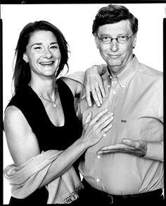 Melinda and Bill Gates, co-founders, Bill & Melinda Gates Foundation. Seattle, Washington  Work Date2004  Copyright© 2008 The Richard Avedon Foundation