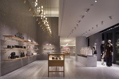 Valentino flagship store by David Chipperfield Architects, Tokyo – Japan Retail Interior Design, Retail Store Design, Retail Shop, Visual Merchandising, Valentino Store, David Chipperfield Architects, Retail Boutique, Branding, Layout