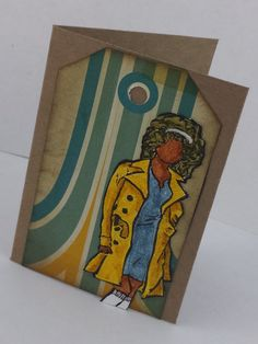 Handmade Greeting Card Mixed Media Mixed Media By Naysworld
