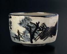 Tea bowl with landscape design, 18th c.
