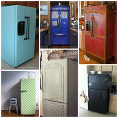 Diy Refrigerator Makeover - 13 Fridge Makeovers That Will Blow Your Mind Fridge Makeover 12 Cool Diy Fridge Makeovers Fridge Makeover Refrigerator How To Give A Refrigerator A Ma. Collage Diy, Home Projects, Remodel, Diy Makeover, Shabby Chic Diy, Home Decor, Home Diy, Diy Kitchen, Refrigerator Makeover