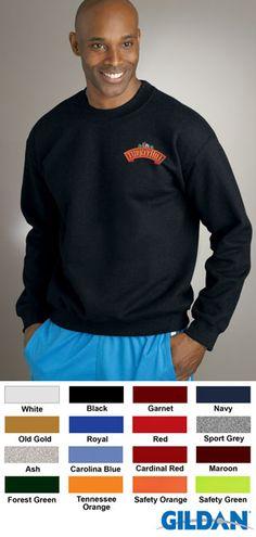 Gildan Corporate Clothing Embroidered Crewneck Sweatshirt $18.73