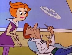 """Recapping """"The Jetsons"""": Episode 02 – A Date With Jet Screamer Famous Cartoons, Classic Cartoons, Classic Cartoon Network Shows, Os Jetsons, Cartoon Crazy, Futuristic Art, Art Model, Animation Film, Looney Tunes"""