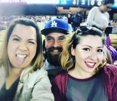 THINK BLUE: The only pic im in  from last week at the #dodgers stadium. Good times with awesome people. #la #losangeles #california #socal #birthday by kenny_navarro
