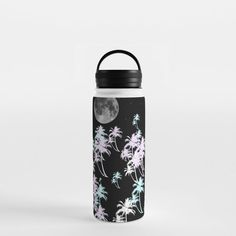 Tropical night Water Bottle