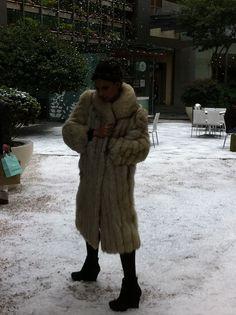 """Shooting de nuestra campaña de invierno """"winter goddess"""" en http://www.antara.com.mx"""