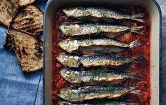 Baked Sardines in Pepperonata photo