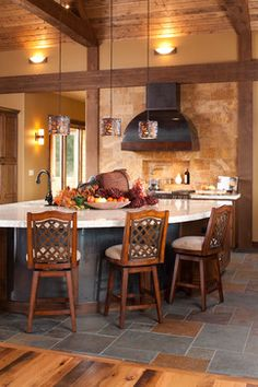 wedge kitchen island | Oval Kitchen Islands Design Ideas, Pictures, Remodel, and Decor