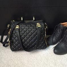 Steve Madden Purse Black Bags
