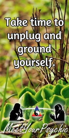 Take time to unplug and ground yourself. Psychic Phone Reading 18779877792 #psychic #love #follow #nature #beautiful #meetyourpsychic https://meetyourpsychic.com/welcome1