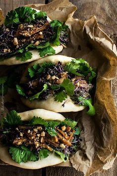 GUA BAO (steamed bao aka pork belly buns aka bao) [China] [Taiwan] [bake street]