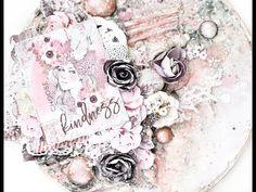 Rose Quartz mixed-media canvas with Tiffany Solorio - YouTube