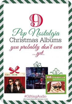 Top 9 Pop Nostalgia Christmas Albums (and wireless Flip 2 speaker giveaway!) #GiftingAudio #shop
